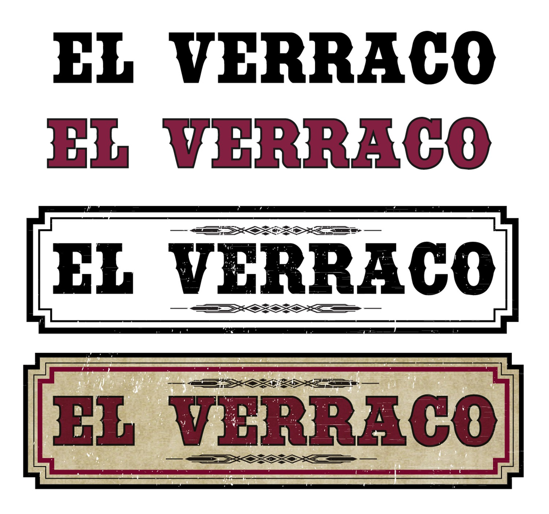 Logo for El Verraco hot sauce!