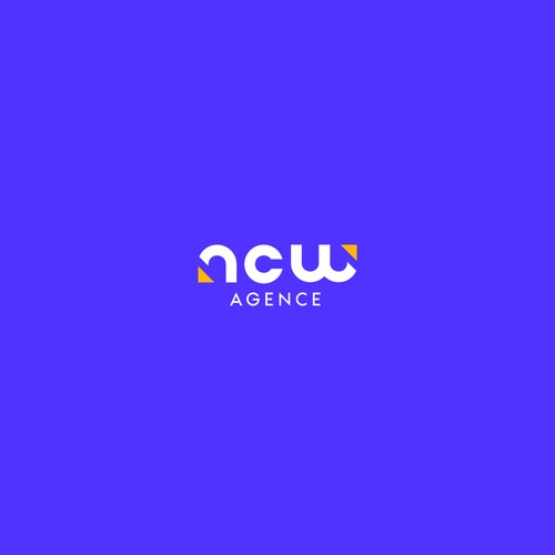Logo design for Agence NCW