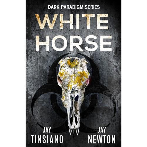 Book cover design for White Horse