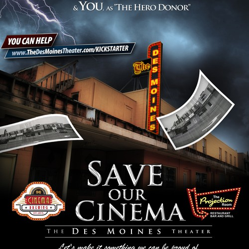 "Need an awesome ""Coming Soon"" Movie Poster - about a movie theater :)"