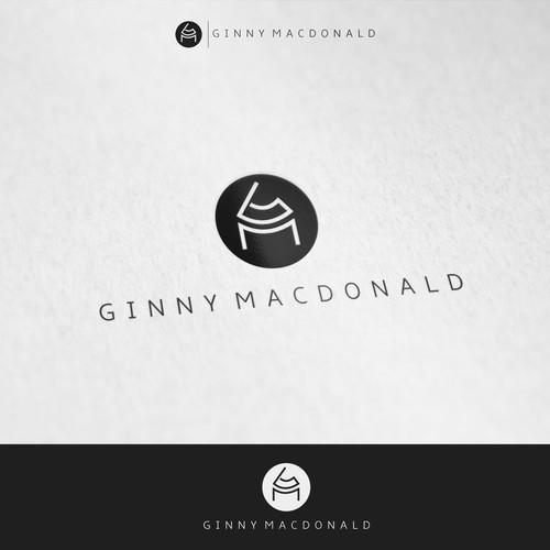 A brand logo for an interior designer