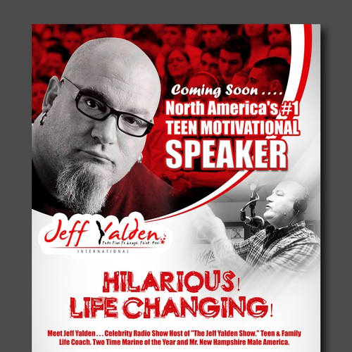 Flyer for Jeff Yalden