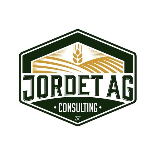 Vintage logo for Jordet Ag Consulting