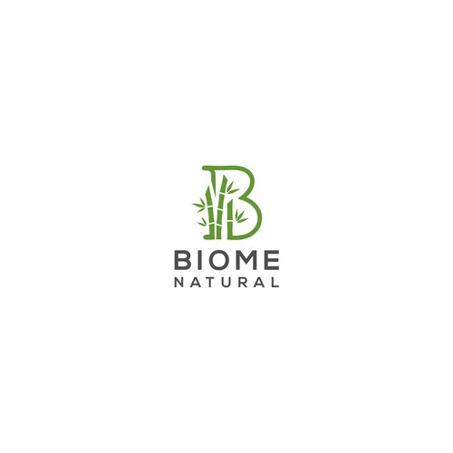 Logo concept for 'Biome Natural'