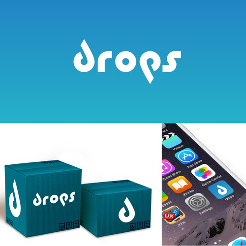 Logo for drops