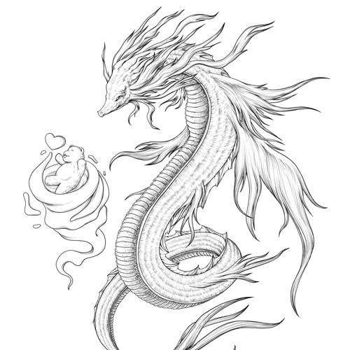 Leviathan, goddess of the sea