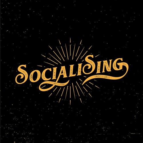 Sociali Sing Logo Design