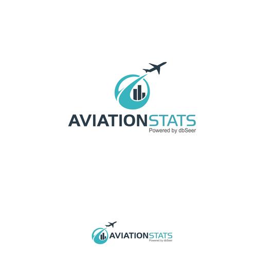 Aviation Stats logo design