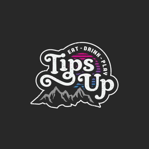 Logo proposal for Tips Up.