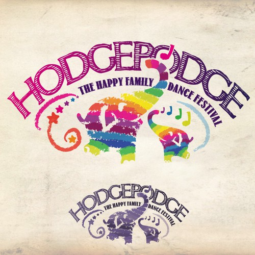 Design the logo for the ultimate music festival: Hodgepodge - The first family dance festival