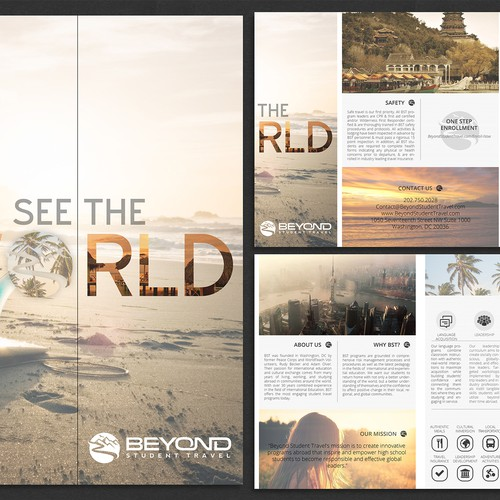 Brochure for Beyond Student Travel