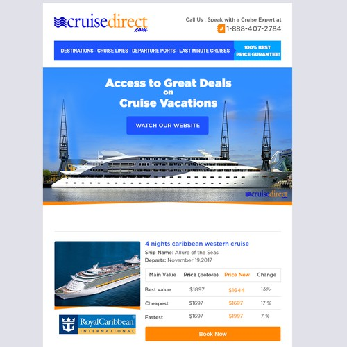Cruisedirect company email