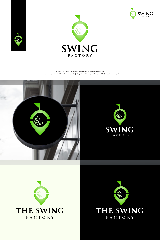 New Modern Golf Driving Range needs a cool slick logo!