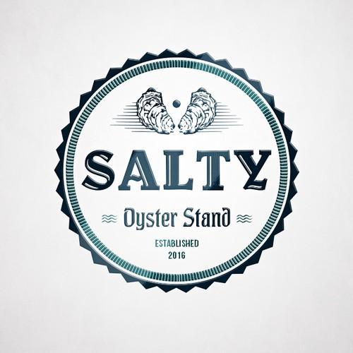 Salty Oyster restaurant logo