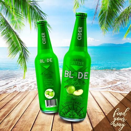 Blade - Hard Seltzer Packaging Label