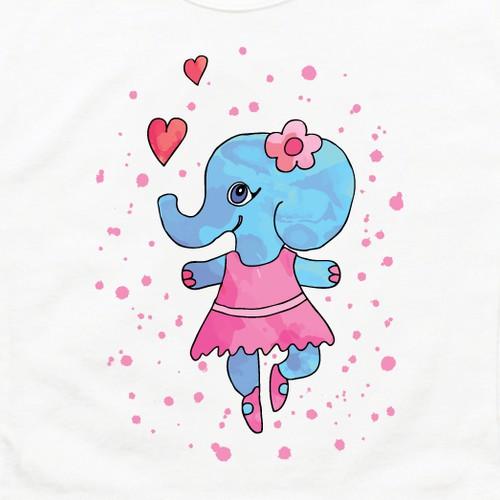 t-shirt design for Holla Kids