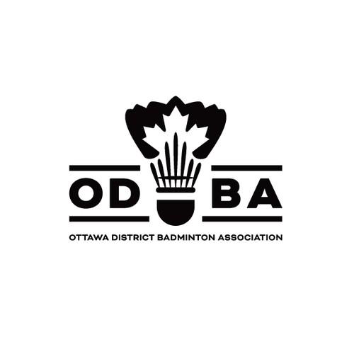 Logo for badminton association
