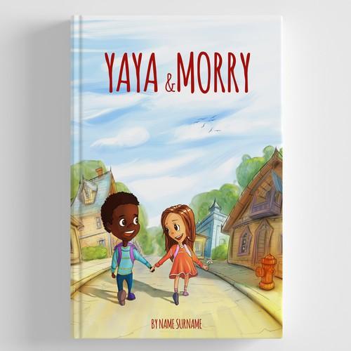 "Book cover ""Yaya & Morry"""