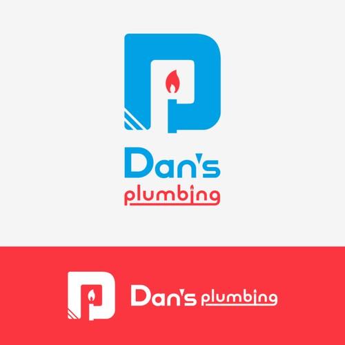 Dan's plumbing - logo