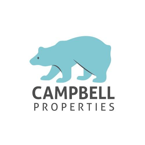 Bear logo for unique real estate company
