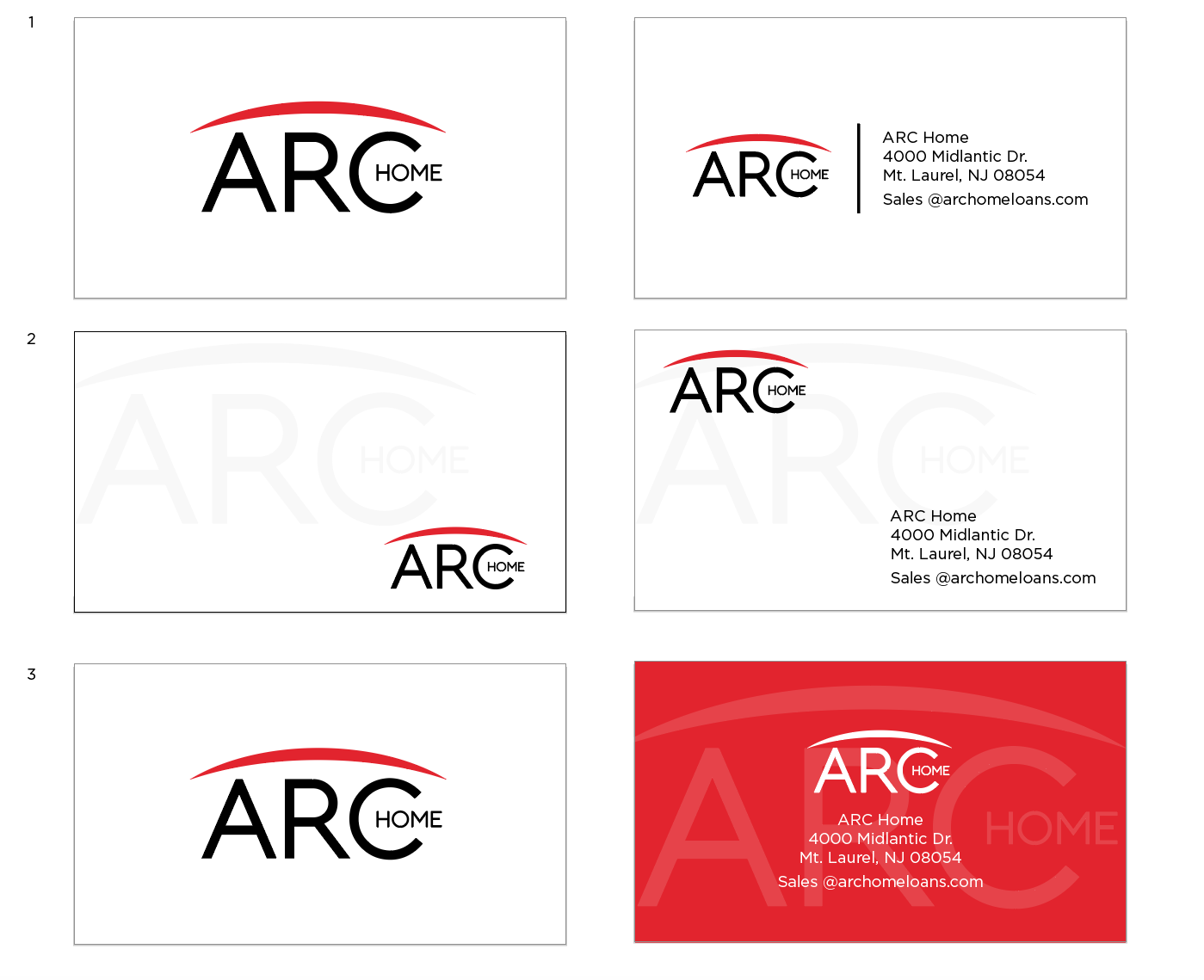 Arc Home Loans Needs A Fresh New Logo