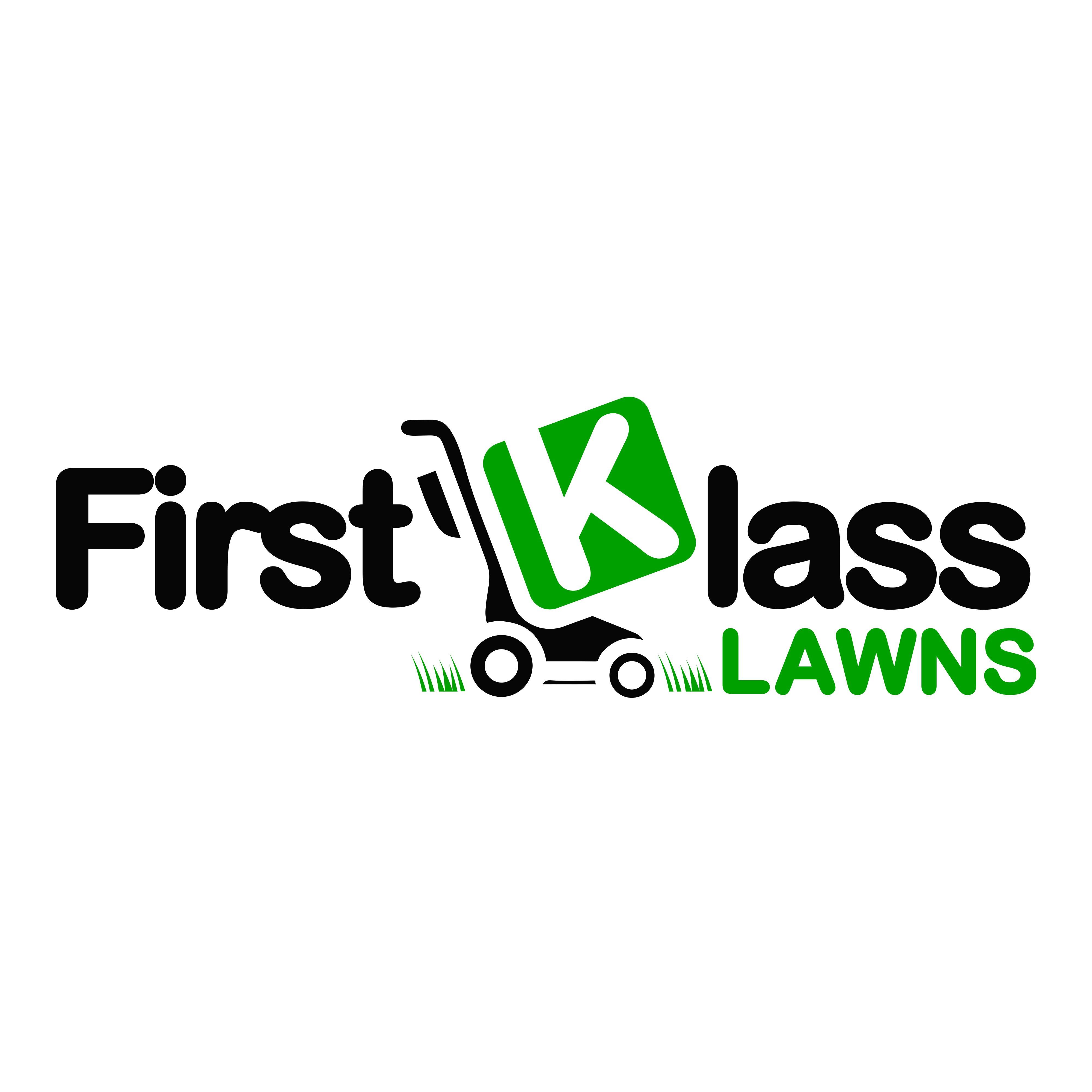 First Klass Lawns - logo needed!