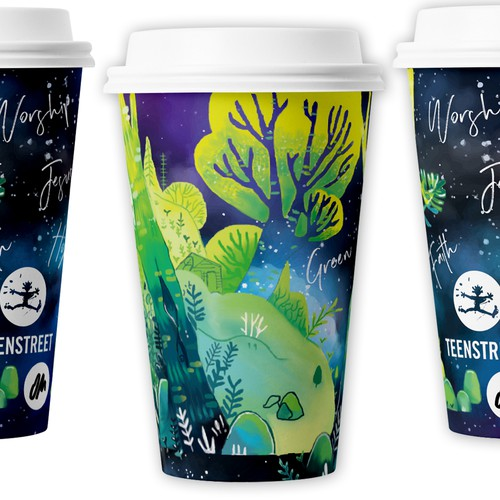 Cup design concept for Green Seminar