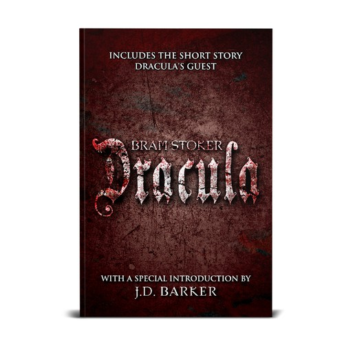 Book Cover Design for J.D. Barker (finalist)