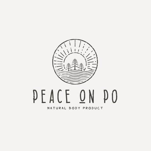 logo natural body product