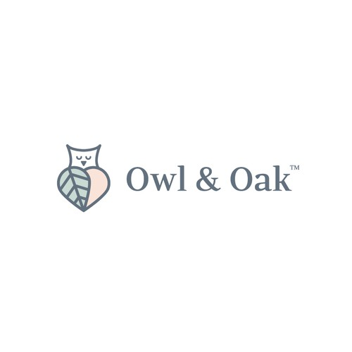 owl & oak logo FOR SALE!