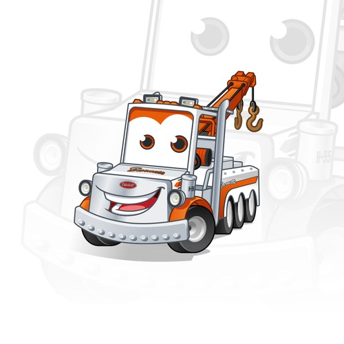 Mascot Design for International Towing & Recovery Hall of Fame and Museum