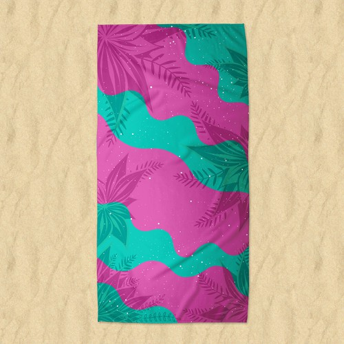 Beach towel design