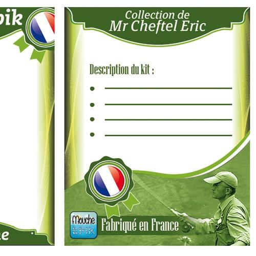 Fan de pêche? Aidez Mr Cheftel avec un nouveau design de blister!!