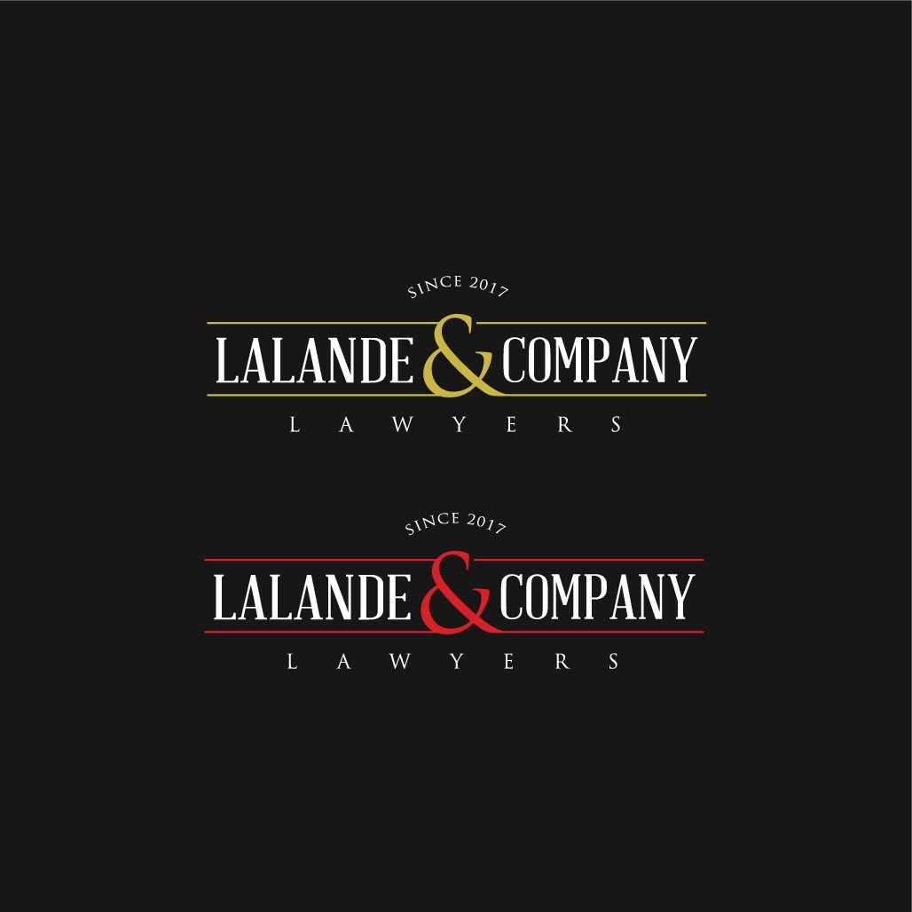 Design a cool traditional wordmark logo for a new law firm!