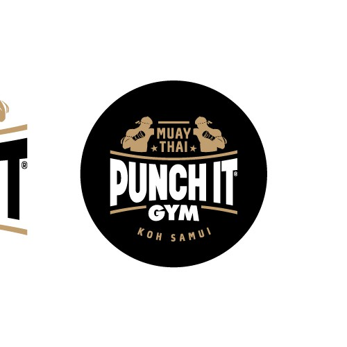 Logo for Muay Thai training gym
