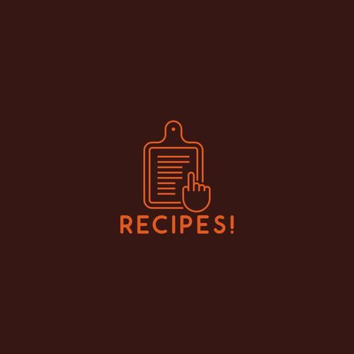 Recipes! logo.