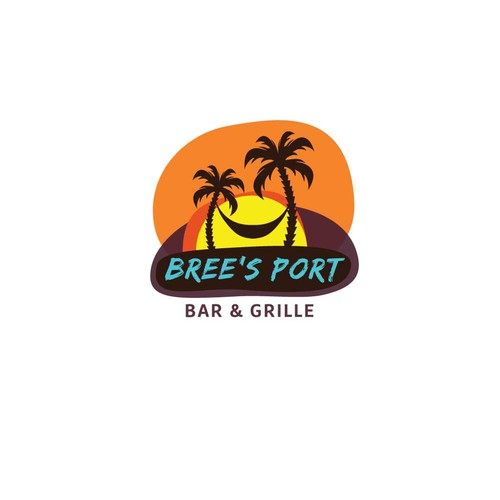 Logo concept for Carribbean restaurant.