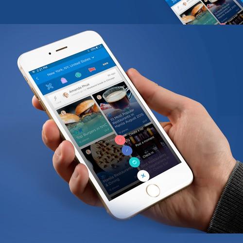 Upnixt app design