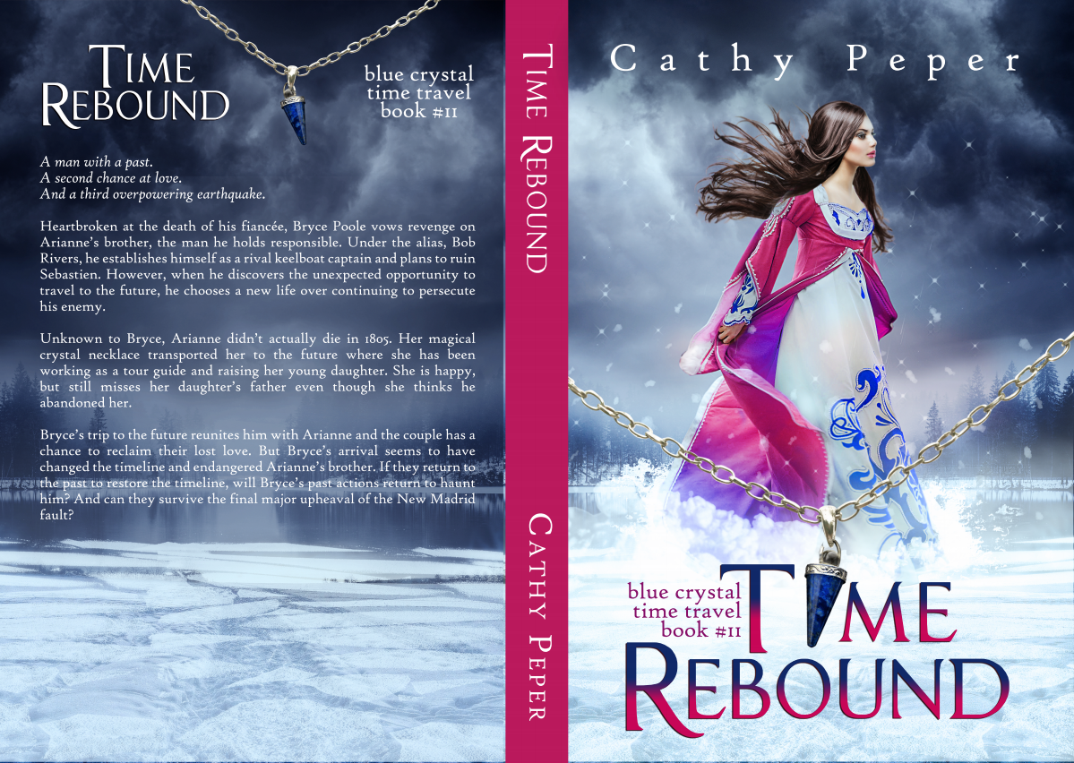 paperback cover for Time Rebound