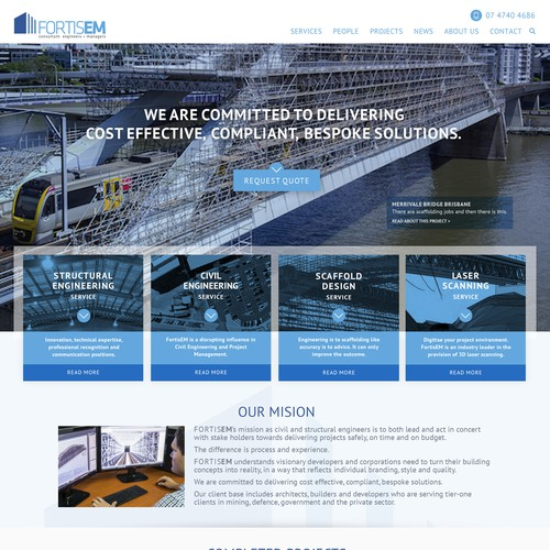 website for Engineering Consulting Firm