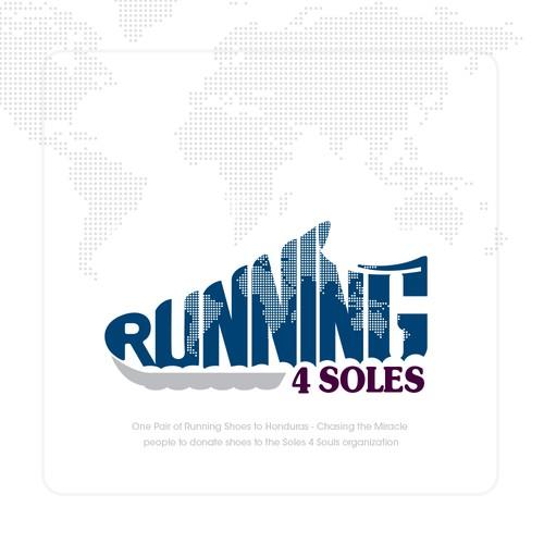Logo Design for Running 4 Soles