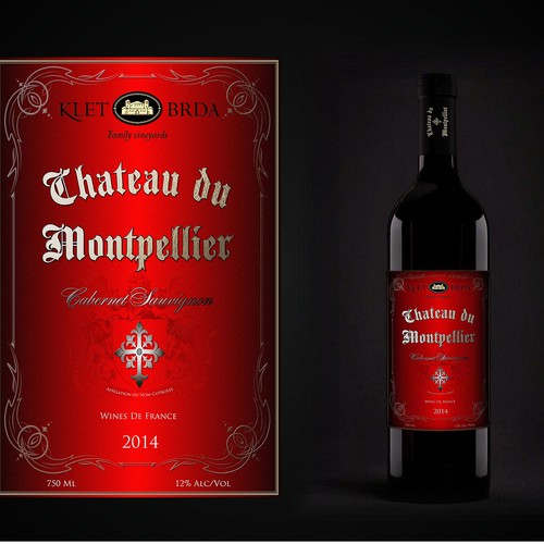 full concept red old vine