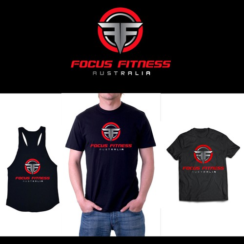 Create a modern, simple and original logo for Focus Fitness