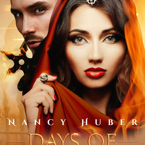 Days of Fire - Book cover and E-book cover