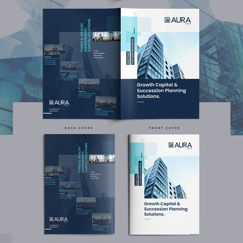 Minimalist Corporate Brochure