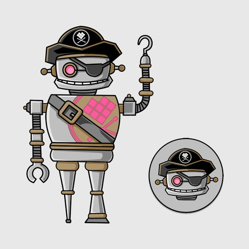 Pirate Robot