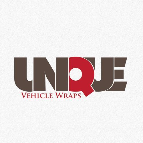 logo for Unique Vehicle Wraps