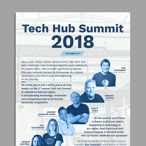 Technology event invitation