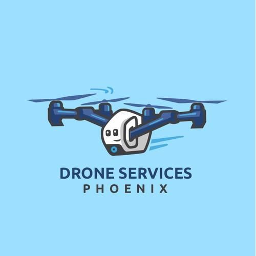 Drone mascot