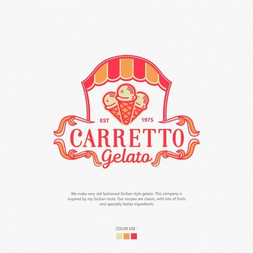 Logo and brand identity New Gelato Company